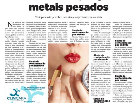 Contaminação por metais pesados