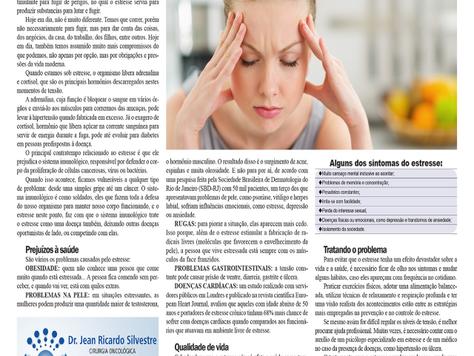 Como o estresse prejudica nossa saúde