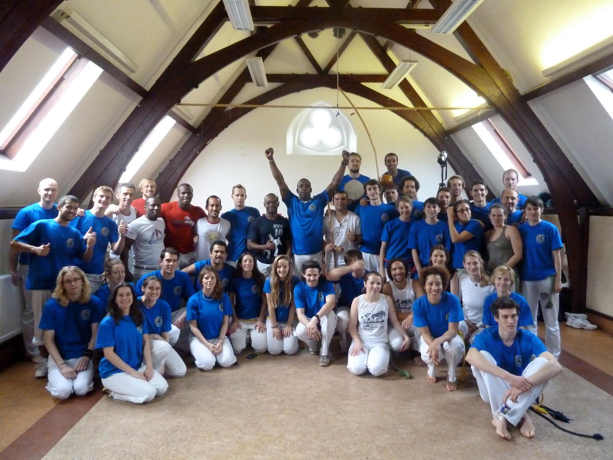 Abolicao Capoeira Oxford Batizado, Mestre Luis Negao