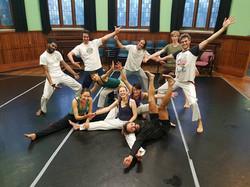 Capoeira Training, Longfield Hall, Camberwell, South London