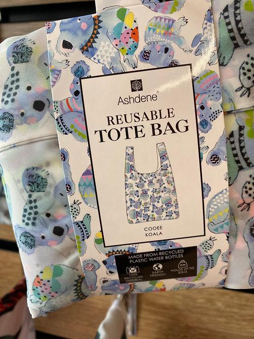 Ashdene Reusable Tote Bag - Cooee Koala