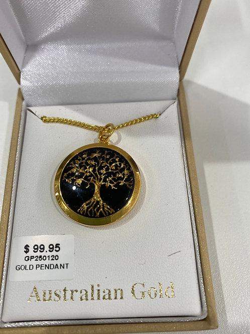 GP250120 - Gold Pendant