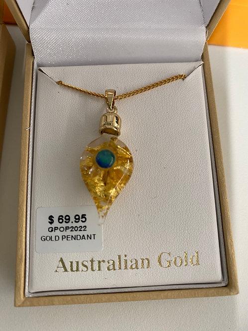 GPOP2022 - Gold Pendant