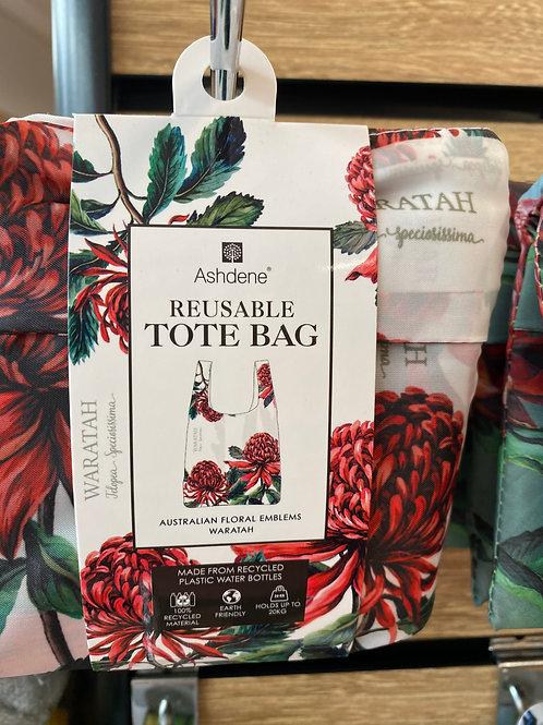 Ashdene Reusable Tote Bag - Waratah