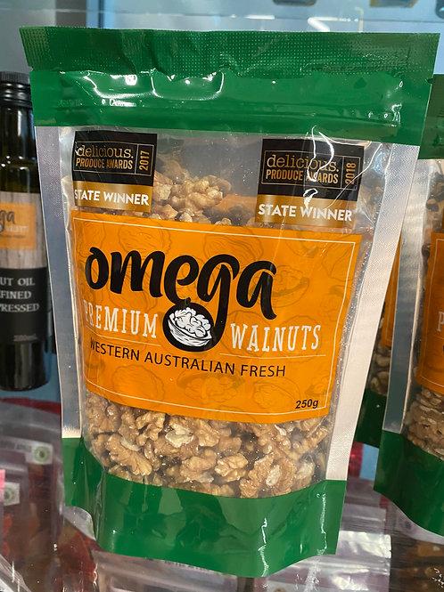 Omega Premium Walnuts - 250g