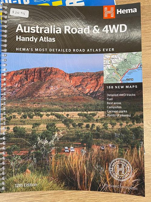 Australia Road & 4WD Atlas - 12th Edition