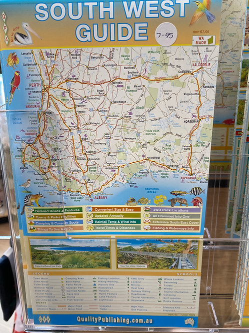 South West Guide - A1 Size Map