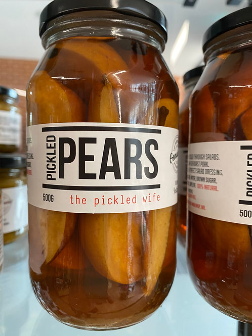 The Pickled Wife - Pickled Pears (500g)