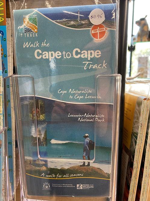 Cape to Cape Track Map - Cape Naturaliste to Cape Leeuwin