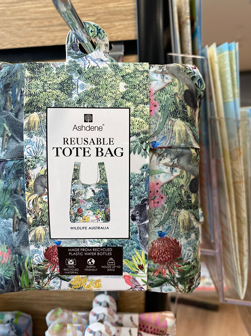 Ashdene Reusable Tote Bag - Wildlife Australia