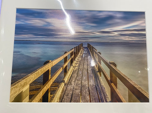 Augusta Boat Ramp - A4 Size Print