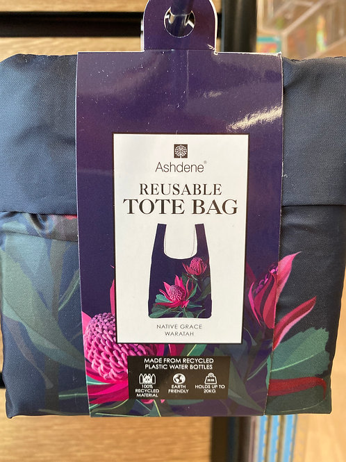 Ashdene Reusable Tote Bag - Native Grace Waratah