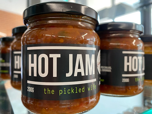 The Pickled Wife - Hot Jam (200g)