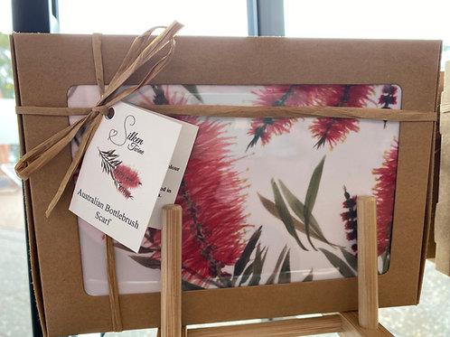 Silken Twine - Australian Bottlebrush Scarf
