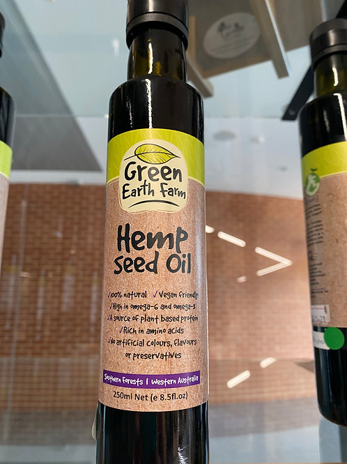 Green Earth Farm - Hemp Seed Oil (250ml)