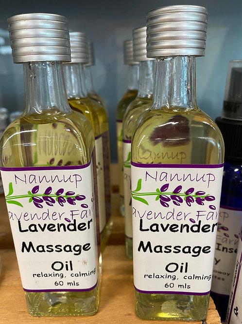 Nannup Lavender Farm - Massage Oil (60ml)
