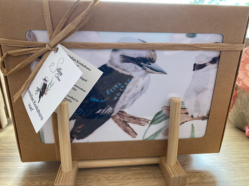 SilkenTwine - Australian Kookaburra Scarf