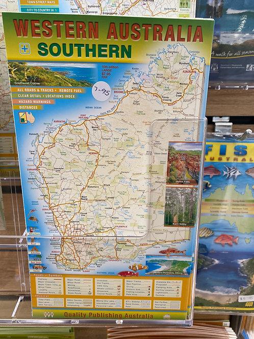 Western Australia - Southern (A1 size)