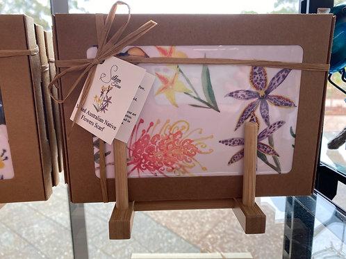Silken Twine - Mixed Australian Native Flowers Scarf