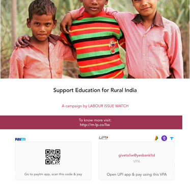 Support Education for Rural India