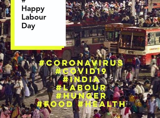 मजदूर दिवस की शुभकामनाएं