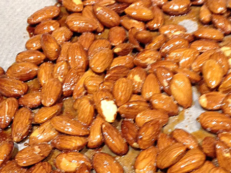 Honey Almond Clusters