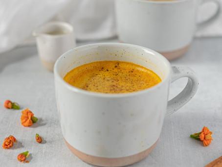 Dandelion Turmeric Latte
