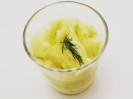 Pineapple Dill Sorbet