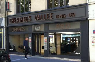 Un show-room de 190 m2 à Rouen