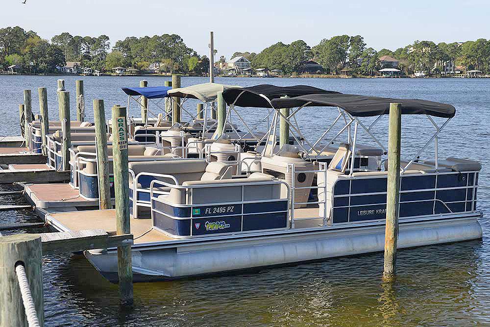 Pontoon Rental:    Boat 1 or Boat 2