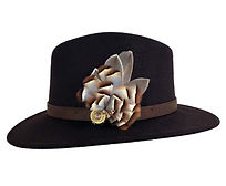 Mackenzie & George Felt Fedora Hat