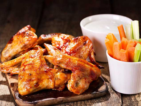 Friday Night Takeaway At Home - Honey And Soy Chicken Wings!