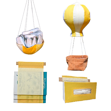 Up Up n Away Product Set : Yellow