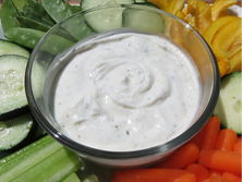 Ranch Dip & Crunchy Vegetables
