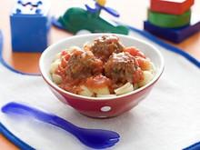 Mini Meatballs With Pasta