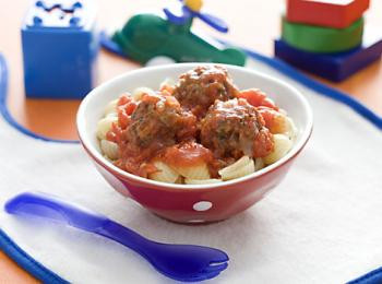 Mini Meatballs With Pasta