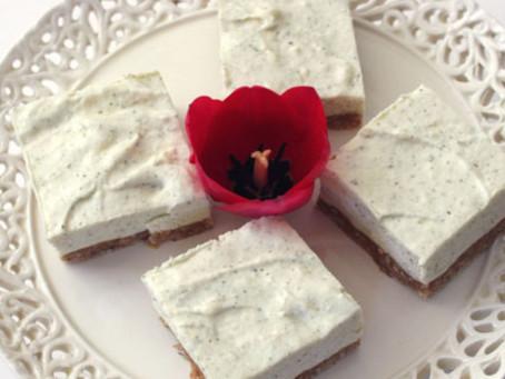 Lemon Myrtle No Bake Cheesecake