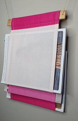 Book / Magazine Holder : Pink