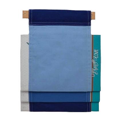Book / Magazine Holder : Blue