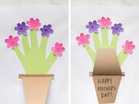 Mother's Day Handprint Flowerpot