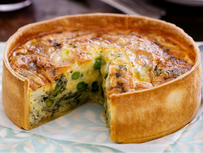 Easy Pea-sy Quiches
