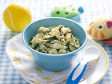 Scrambled Eggs & Spinach