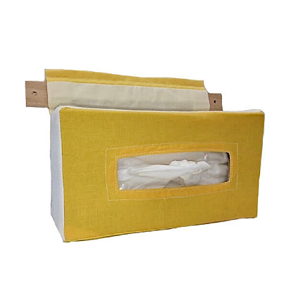 Baby Wipes / Tissue Holder : Yellow