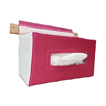 Baby Wipes / Tissue Holder : Pink