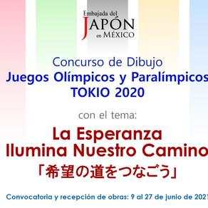 CONCURSO DE DIBUJO POR LA EMBAJADA DE JAPÓN