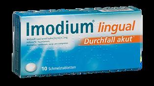 Imodium lingual Durchfall aktu