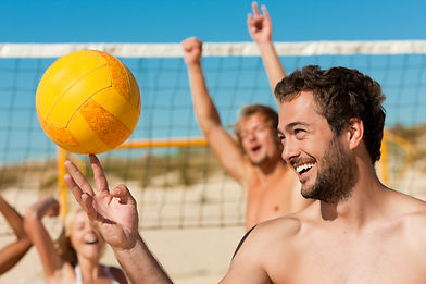 Group Beach Volleyball