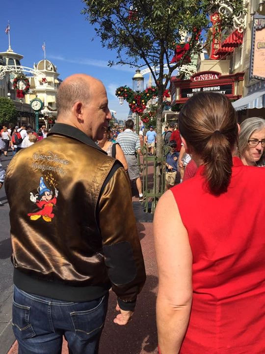 Stroll with a Former Imagineer