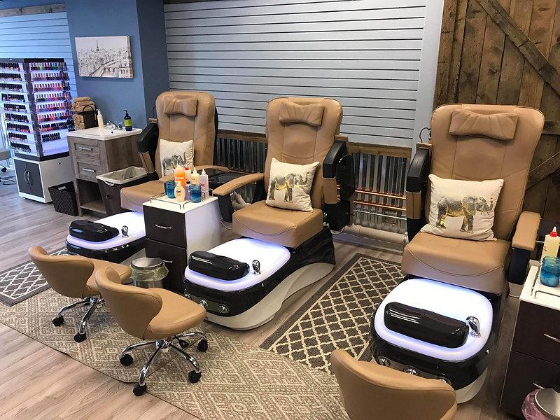 Ambiance Salon and Spa Pedicure Chairs in Oconomowoc, WI