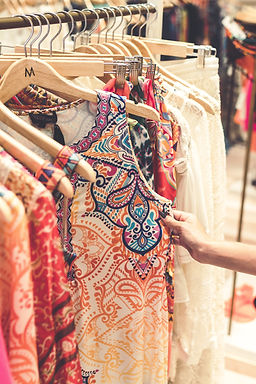 Women's 'Dresses on Clothes Rack